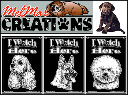 DelMar Creations Dog Signs