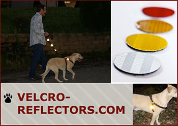 Safety Reflectors for Dogs