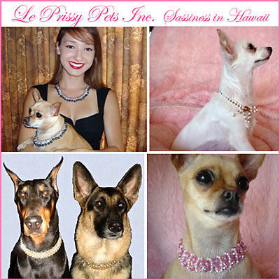 Le Prissy Pets Dog Collars